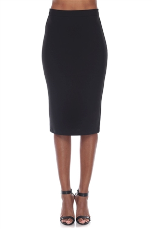Wholesale Clothing Women's Stylish Stretch Pencil Skirt -RA-031-A