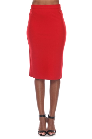 Wholesale Clothing Plus Size Women's Stylish Stretch Pencil Skirt -RA-031-B