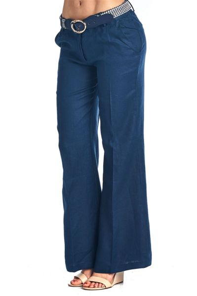 Women's Casual Linen Pants