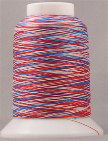105 - Variegated Red/White/Blue