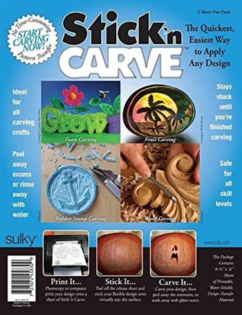 Stick N Carve Everyday Fun Pack (24)