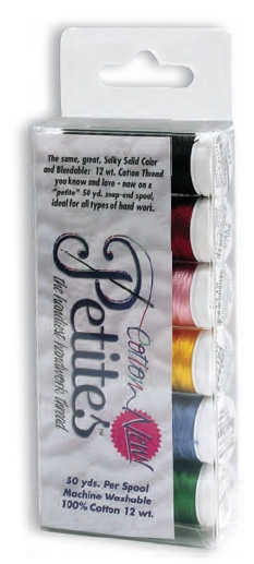 71213 - 12 wt Sulky Petites 6 pack - Bright Colors