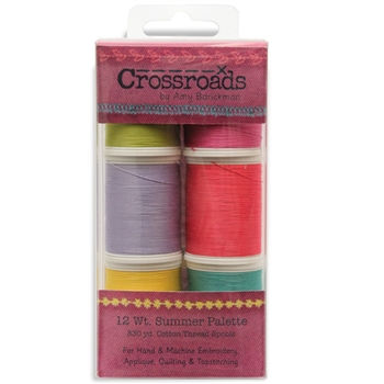 713-34 - 12 wt Sulky Cotton - Cross Roads by Amy Barcikam