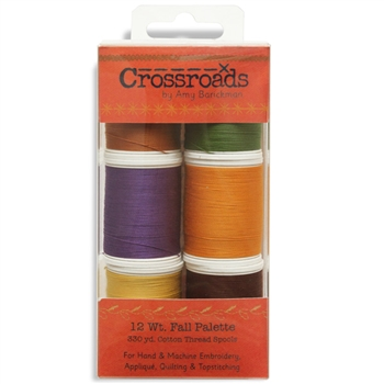 713-35 - 12 wt Sulky Cotton - Cross Roads by Amy Barcikam