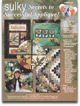 Sulky Secrets to Successful Applique'