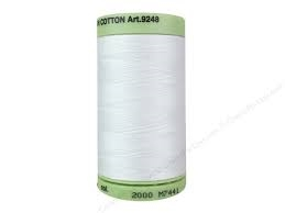 Mettler #60 Cotton Silk Finish Embroidery 800M