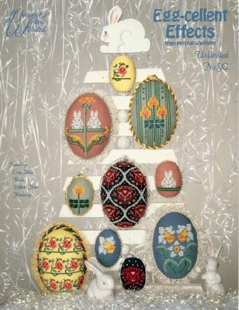 Egg-cellent Effects from Antique Wallpaper