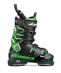 Nordica Promachine 120 Ski Boots Black/Green - 2020