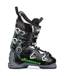 Nordica Speedmachine 110 Ski Boots Black/Green - 2020