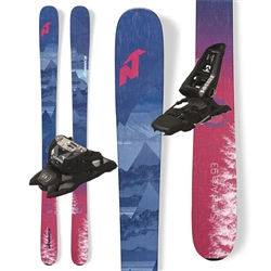 Nordica Santa Ana 93 Skis W/Marker Squire  Bindings - 2020
