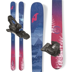 Nordica Santa Ana 93 Skis W/Salomon Warden 11 Bindings - New 2017