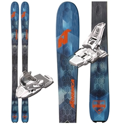 Nordica Navigator 85 Skis W/ Marker Squire Bindings- 2018