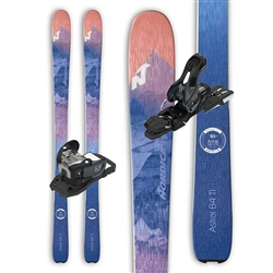 Nordica Astral 84 Women's Skis W/ Salomon Warden 11 Binding - 2018