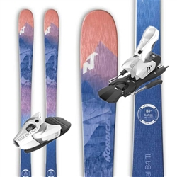 Nordica Astral 84 Women's Skis W/ Salomon Z10 Ti W Binding - 2018