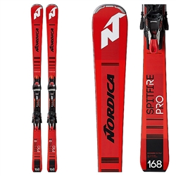 Nordica Dobermann Spitfire Pro FDT Skis with TPX 12 Bindings