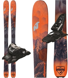 Nordica Navigator 90 Skis Orange - 2019