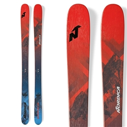 Nordica Enforcer 100 Skis Blue/Red - 2019