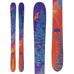 Nordica Santa Ana 110 Skis Purple/Orange - 2019