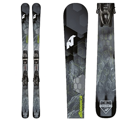 Nordica Navigator 75 CA Skis W/ TP2 10 Bindings Black/Green - 2019