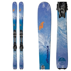 Nordica Astral 78 CA Skis W/ TP2 10 Bindings Violet - 2019