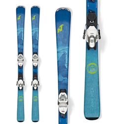 Nordica Astral 74CA Skis W/TP2 10 Bindings - 2020