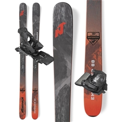 Nordica Enforcer 88 Skis - Package With Attack 13 bindings.
