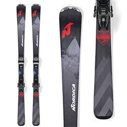 Nordica Navigator 75 CA Skis W/ Marker TP2 Compact 10 FDT Bindings - 2020