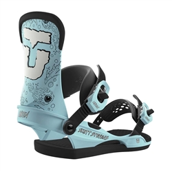 Union Men's Scott Stevens Blue Snowboard Bindings - 2019