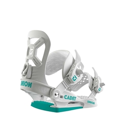 Union Kid's Cadet White Snowboard Bindings - 2019