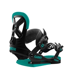 Union Kid's Cadet Black Snowboard Bindings - 2019