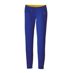 Patagonia Capilene Midweight Bottoms Baselayer Blue - Women's