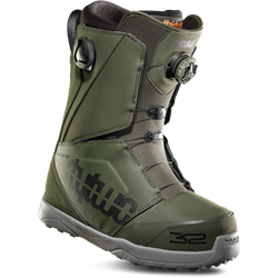 ThirtyTwo Lashed Double Boa Snowboard Boots Olive - 2019