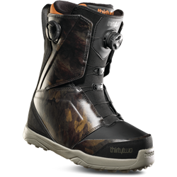 ThirtyTwo Lashed Double Boa Snowboard Boots Black/Camo - 2019