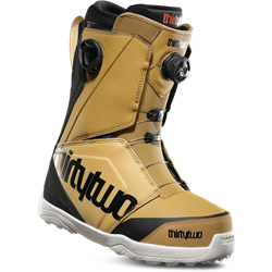 ThirtyTwo Lashed Double Boa Snowboard Boots Gold/Black - 2019