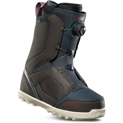 ThirtyTwo Stw Boa Snowboard Boots Brown/Navy - 2019