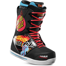 ThirtyTwo Santa Cruz Lashed Snowboard Boots Black/Print - 2019