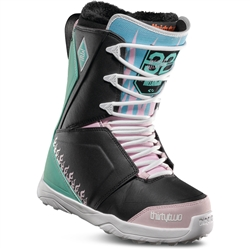 ThirtyTwo Lashed Melancon Women's Snowboard Boots Black/Pink/Green - 2019