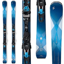 Blizzard Quattro 8.0 Ti Skis W/TCX 12 Bindings - Women's 2017