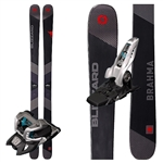 Blizzard Brahma Skis W/Marker Griffon Bindings - 2018