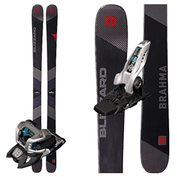 Blizzard Brahma Skis W/Marker Griffon Bindings