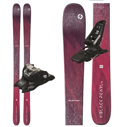 Blizzard Black Pearl 98 Women's Skis - 2020 With Marker Squire Bindings