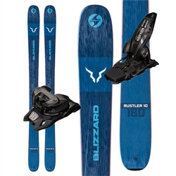 Blizzard Rustler 10 Skis - 2020 With Marker Griffon Bindings