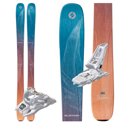 Blizzard Sheeva 9 Skis 2019 W/ Marker White Squire Bindings