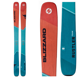 Blizzard Rustler Team Skis Blue/Orange - 2019