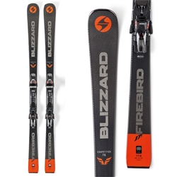 Blizzard Firebird Competition 76 Skis W/TPX12 Bindings - 2020