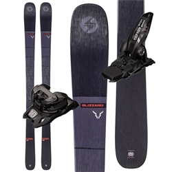 Blizzard Brahma 88 Skis Black - 2020 With Marker Griffon Bindings