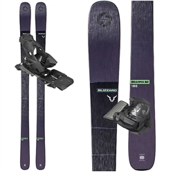 Blizzard Brahma 82 Skis Black - 2020 With Attack 13 Bindings.