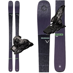 Blizzard Brahma 82 Skis Black - 2020 With Marker Griffon