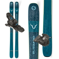 Blizzard Rustler 9 Skis W/Attack 11 Bindings- 2020