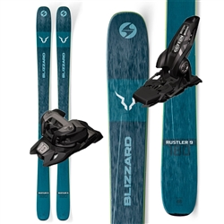 Blizzard Rustler 9 Skis Marker Griffon Bindings - 2020